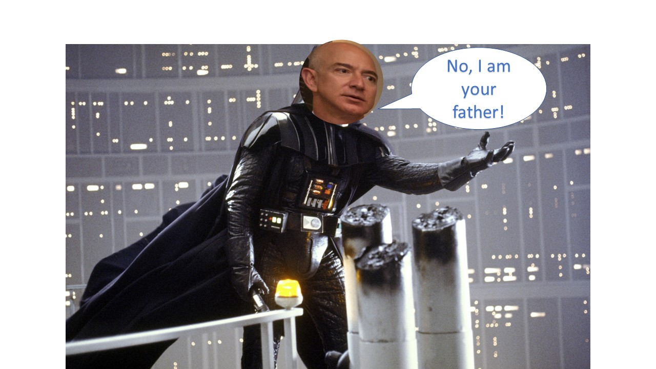 "Omni Talk Podcasts: Amazon says, ""No, I am your father."""