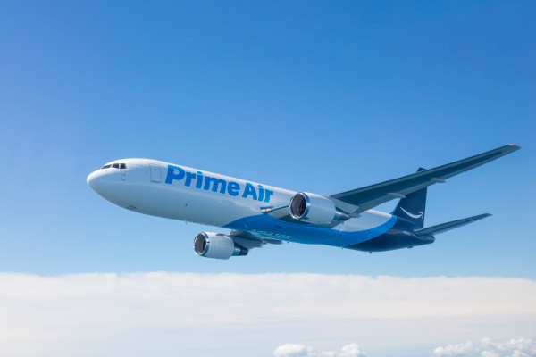 Amazon expands air cargo fleet with 15 more planes, will have 70 planes by 2021   TechCrunch