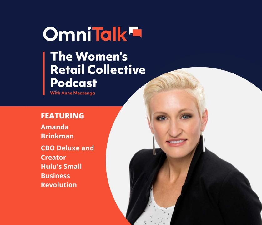 Women's Retail Collective Podcast | Amanda Brinkman Small Business Revolution Host & Deluxe CBO