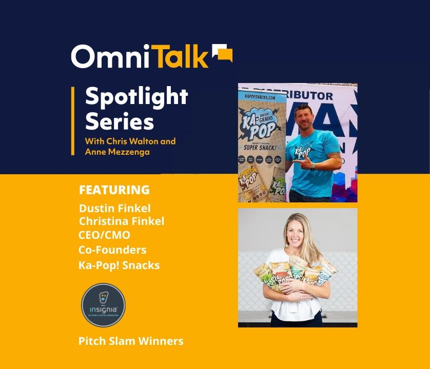 Spotlight Series | Ka-Pop! Co-Founders and Insignia Pitch Slam Winners Dustin & Christina Finkel