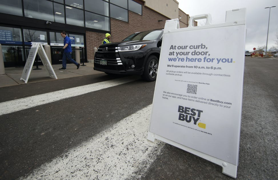 BEST BUY FURLOUGHS 40% OF WORKFORCE, DRIVERLESS DELIVERY VEHICLES ON CA ROADS