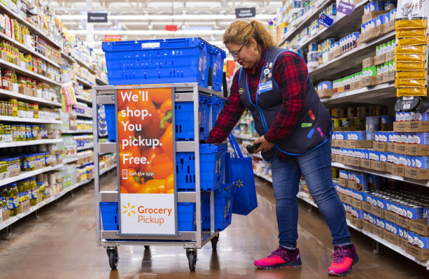 WALMART GROCERY APP TAKES NO.1 SHOPPING APP RANKING, H-E-B SELLING MEALS FROM LOCAL RESTAURANTS