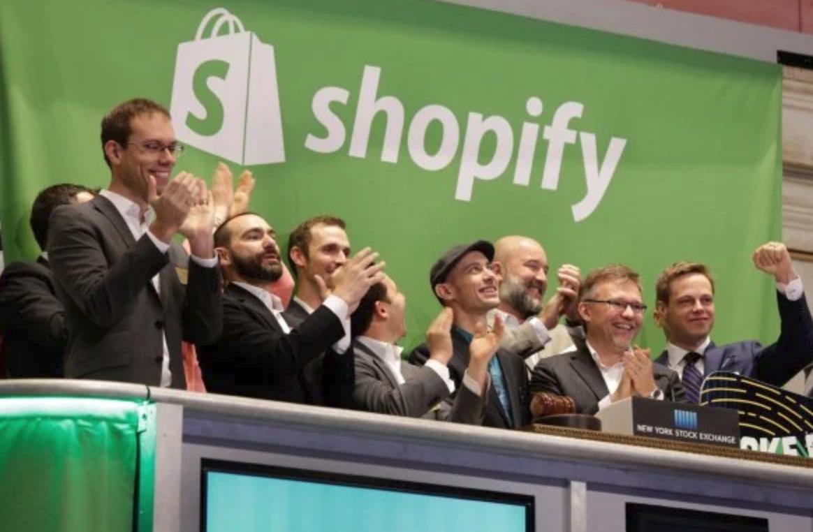 SHOPIFY ANNOUNCES MERCHANT DEBIT CARD AND PAYMENT INSTALLMENTS, TARGET ONLINE SALES SURGE