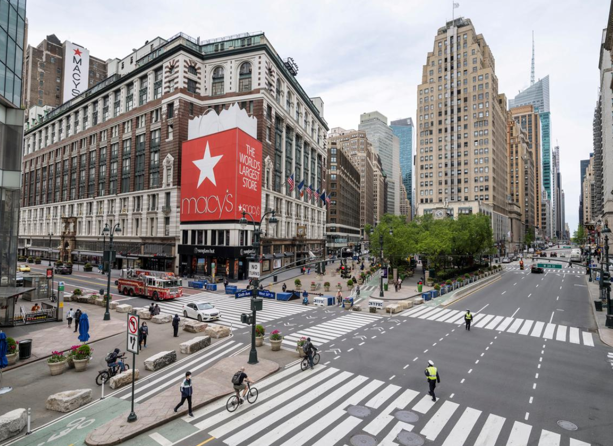 Macy's nearly $4B in losses, Walgreen's new store format, Brookfield Properties AI-based shopping, Meijer bans cash at self-checkout