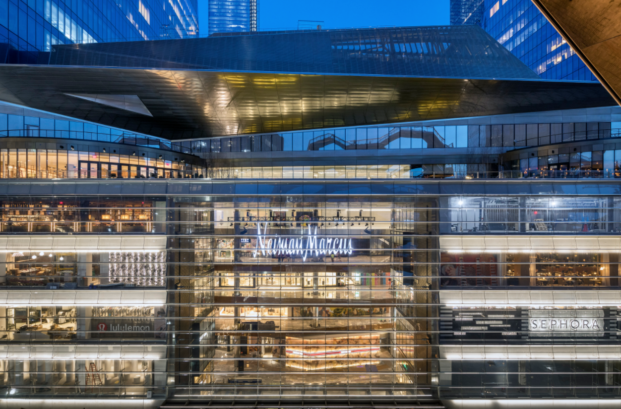 Neiman to close Hudson Yards store, Amazon met w/ startups & launched competing products, Simon/Authentic Brands bid for Brooks Bros., Walmart health expands to FL/IL