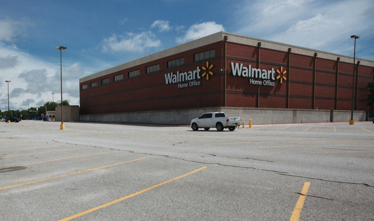 Walmart lays off hundreds