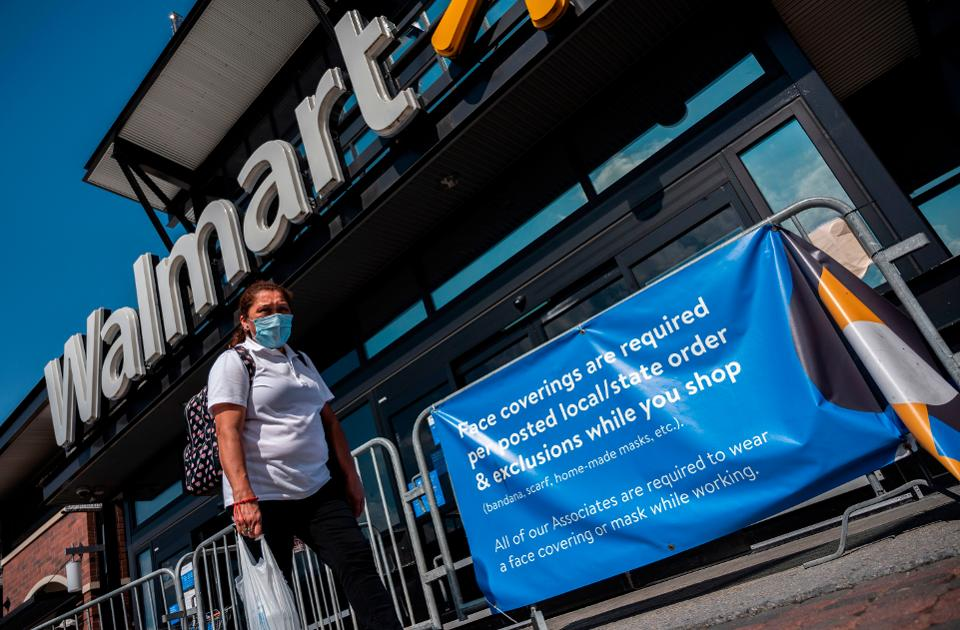 Forbes | Walmart, Target, & Other Retailers Requiring Customers To Wear Masks Is Just Good Business