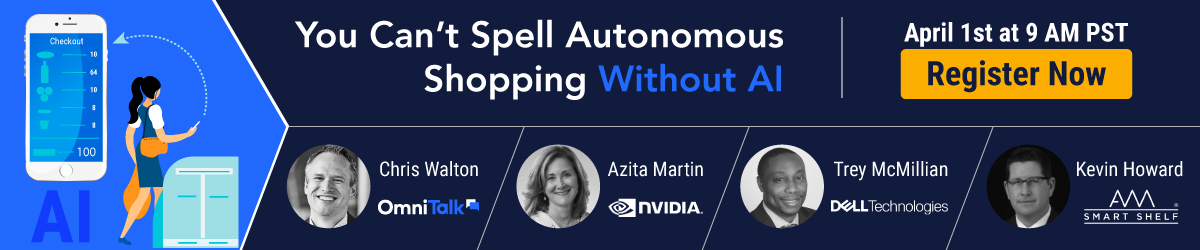 You Cant Spell Autonomous Shopping Without AI