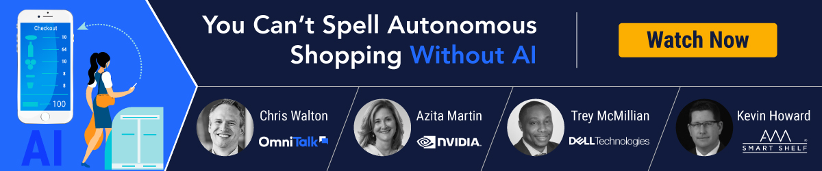 You Can't Spell Autonomous Shopping Without AI